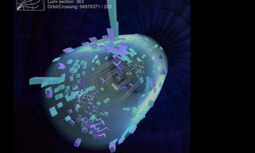 Resurrected Large Hadron Collider Smashes Protons, And Speed Records