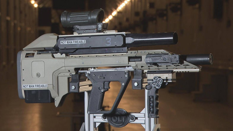 Arms Manufacturer Makes Bizarre Rifle For Canadian Armed Forces