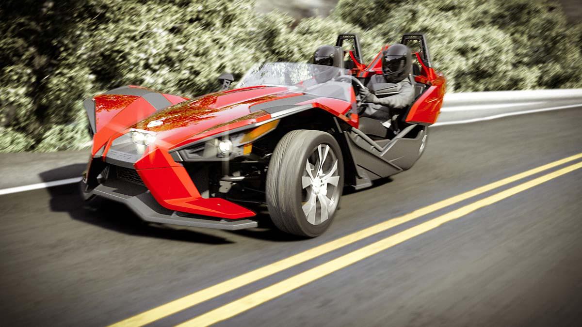 How It Works: The Polaris Slingshot Three-Wheeled Supercar