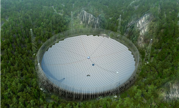 Inside FAST, Soon to be the World's Biggest and Baddest Radio Telescope