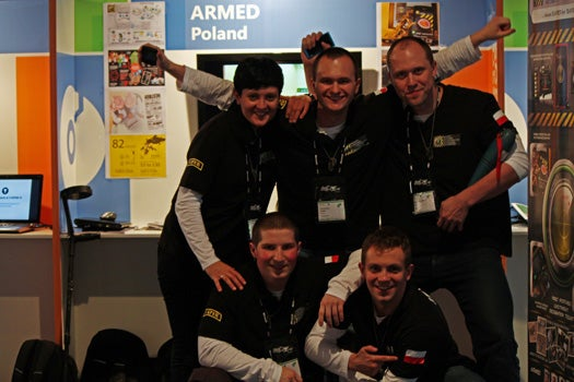 At the Imagine Cup 2012: A Real-Life Minesweeper App That Detects Buried Landmines