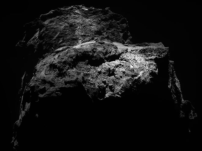67P photographed 59.5 miles from the comet's nucleus