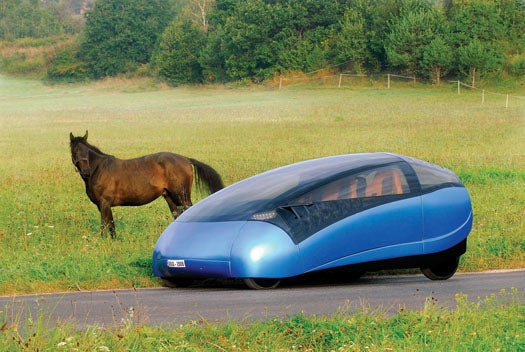 Hungarian Firm Envisions Electric Car That Splits Into Two Smaller Cars (No Joke)