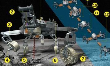 Meet ATHLETE, NASA's Next Robot Moon Walker