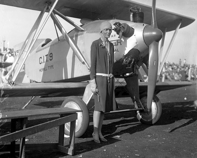 Researchers May Have Found A Fragment of Amelia Earhart's Plane