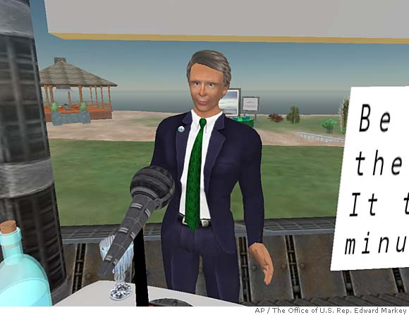 Are Lobbyist Lunches OK in Second Life?