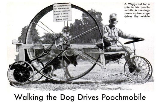 Archive Gallery: PopSci's Most Impractical Inventions