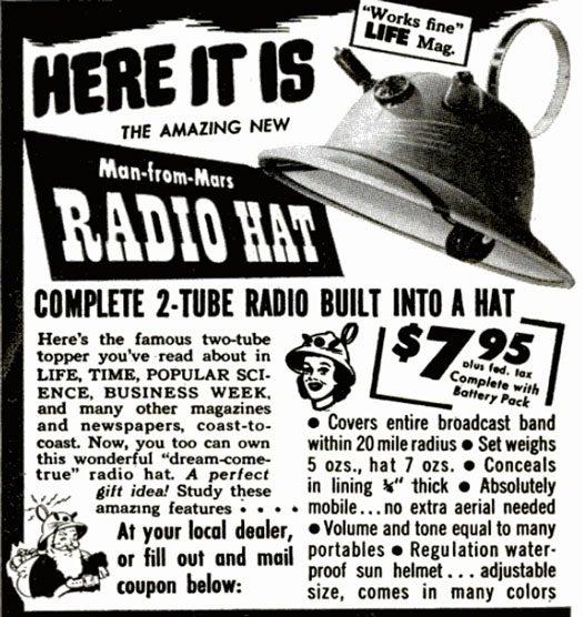 Radio Hat: October 1949