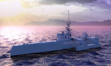 DARPA Will Launch A 132-Foot-Long Robot Yacht In April
