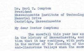 Winter, 1948: Boston Mayor Asks MIT to Create Snow-Fighting Flamethrowers
