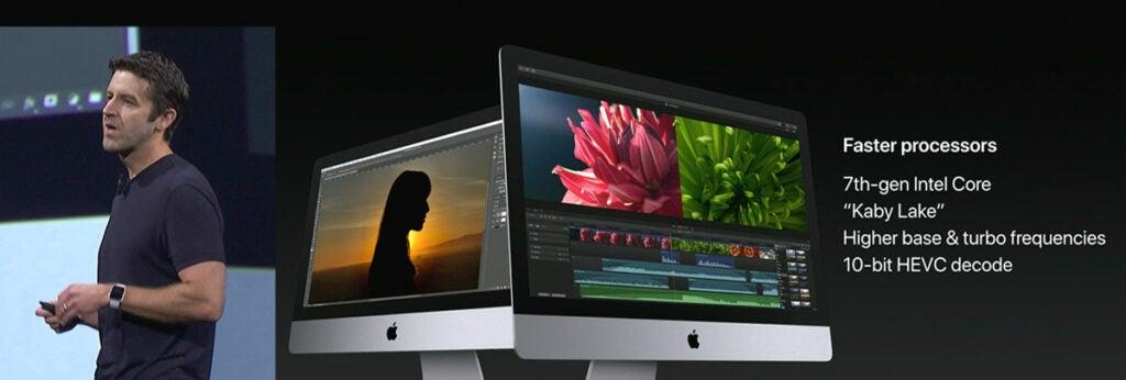 iMac updates 2017