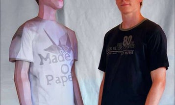 Build a Life-Size Paper Clone of Yourself for Under $40