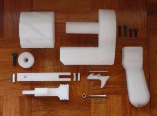 Man In Japan Arrested For 3-D Printing Revolvers