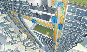 Magnetically Levitating Elevators Could Reshape Skylines