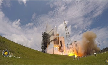 Watch A Spy Satellite Launch Into Space