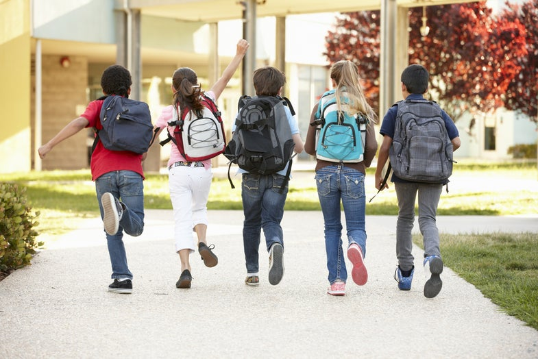 Heavy backpacks can hurt kids—here's how to send them back to school safely