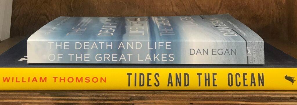 Two books on shelf