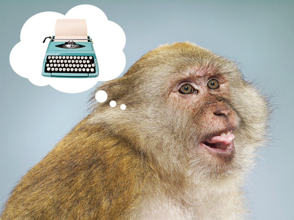 Could a million monkeys with a million typewriters really replicate Shakespeare?