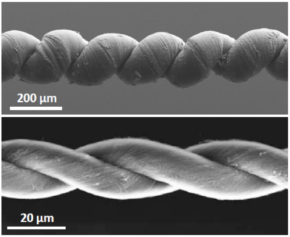 Nanotube Yarn Infused With Wax Makes Incredibly Strong Artificial Muscles