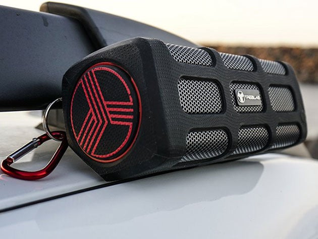 TREBLAB FX100 Rugged Bluetooth Speaker