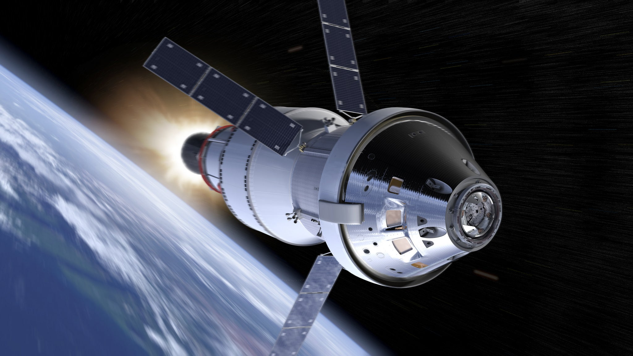 This Is How Orion Astronauts Might Protect Themselves From Radiation Storms
