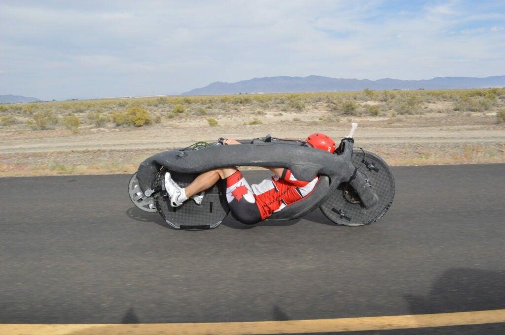 Eta bike, minus its outer shell