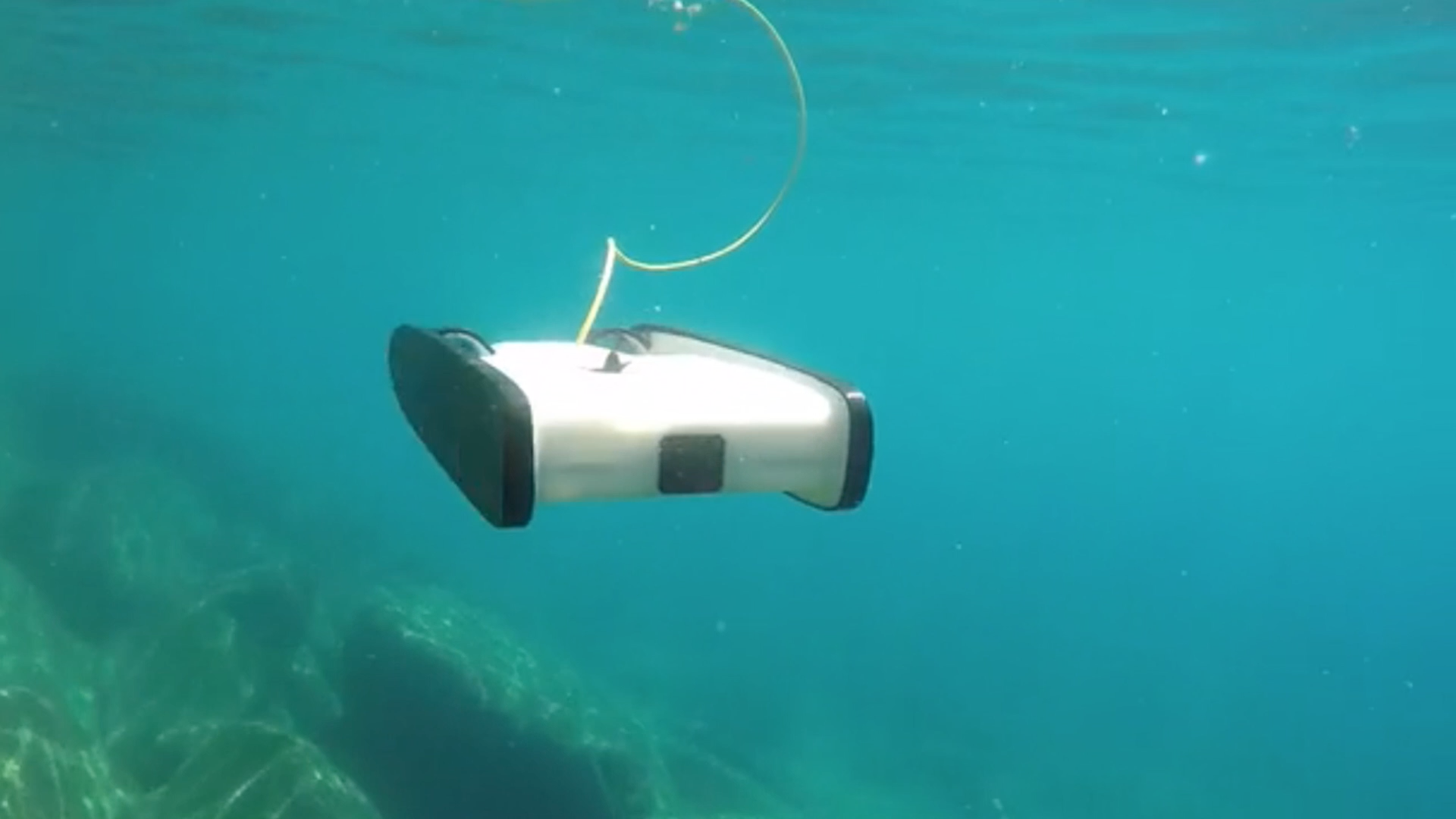 Maker Faire: An Underwater Drone With A Virtual Cockpit