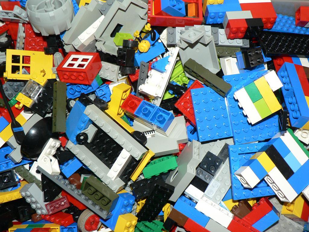 Advanced Mathematics With Legos In A Washing Machine