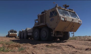 Army Tests Self-Driving Supply Trucks