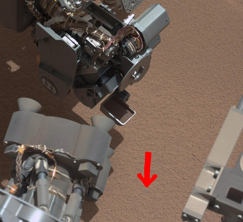 Today On Mars: Curiosity Might Have Lost A Piece of Itself In The Martian Dust