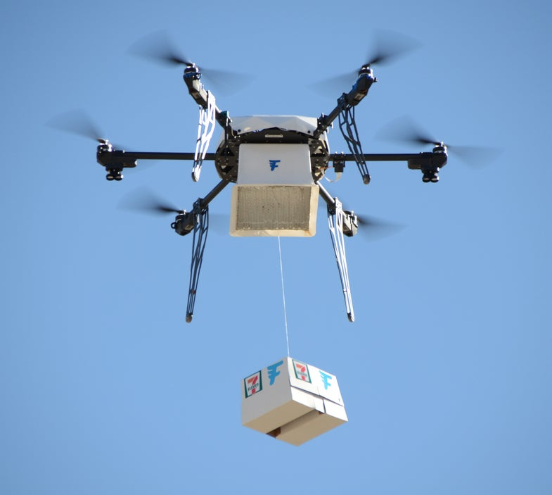 Watch The First Slurpee Delivery By Drone