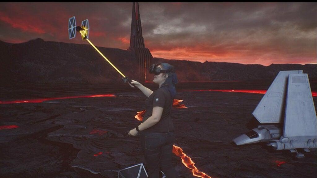 VR Star Wars WWDC 2017