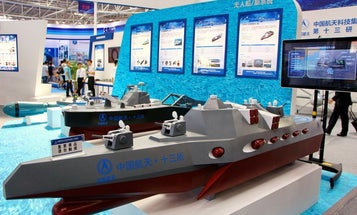 With the D3000, China enters the robotic warship arms race