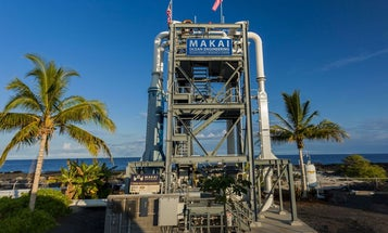 A New Energy Plant In Hawaii Generates Power From Ocean Temperature Extremes