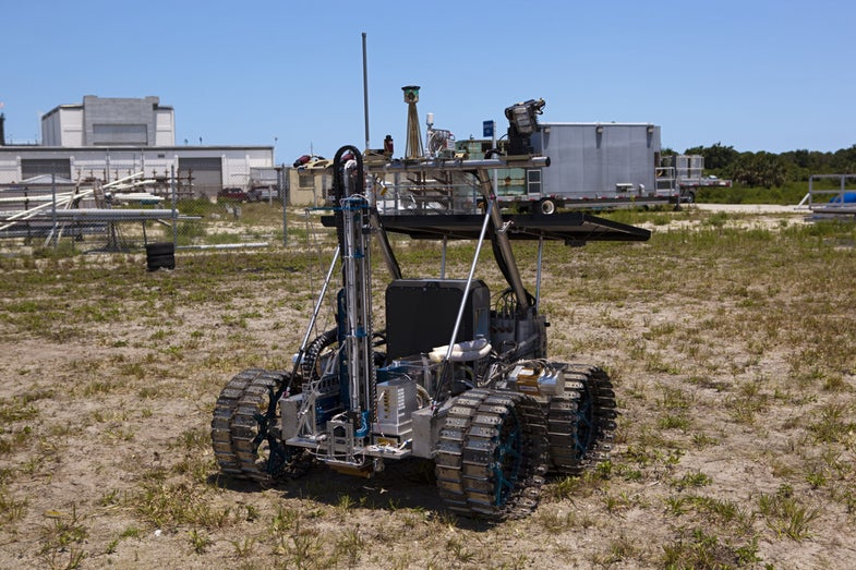 Video: NASA is Testing a Water Prospecting Lunar Rover to Scout Future Moon Mission Destinations
