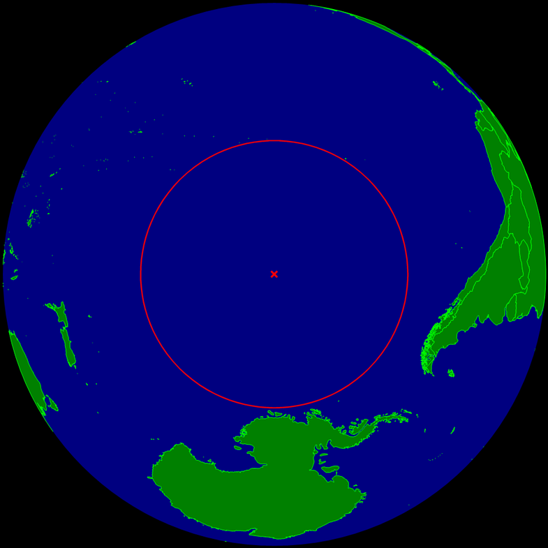 The Oceanic Pole Of Inaccessibility