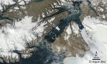 A Satellite View Of Glacial Melting