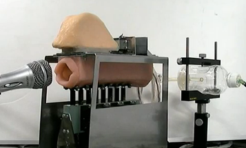 Moaning Mouth-Bot Learns to Croon, Is Even Creepier Than Ever