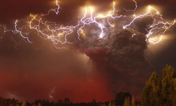 Where Does Volcanic Lightning Come From?