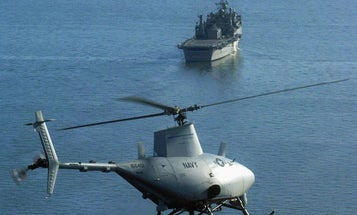 Navy's Robot Helicopters Are Getting New Onboard Brains That Will Help Them Fight Somali Pirates