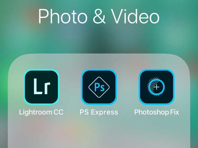 Adobe apps