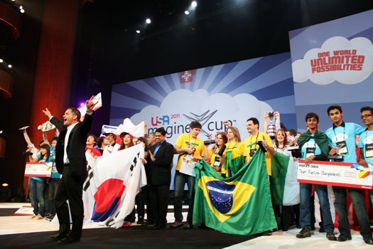 Brilliant Teenagers, World-Saving Tech and Dance Parties at Microsoft's Imagine Cup