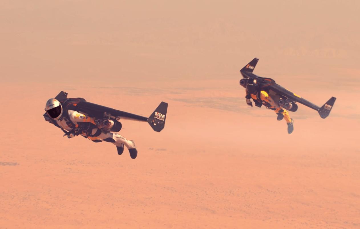 Watch Two Men In Jetpacks Fly Above Dubai [Video]