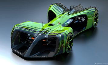 Roborace Cars Will Have NVIDIA Supercomputers for Brains