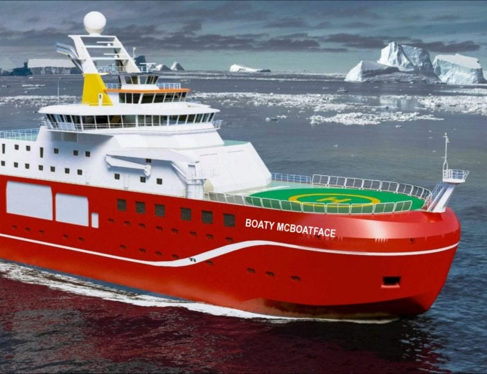 Boaty McBoatface Has An Official Name
