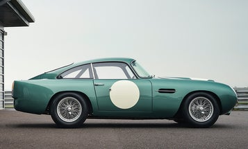Aston Martin used 3D scanning and modern manufacturing to recreate its DB4 GT race car