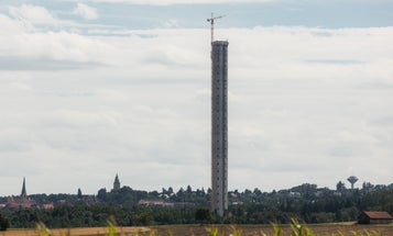 Test Tower For Magnetic Levitation Elevators Almost Ready
