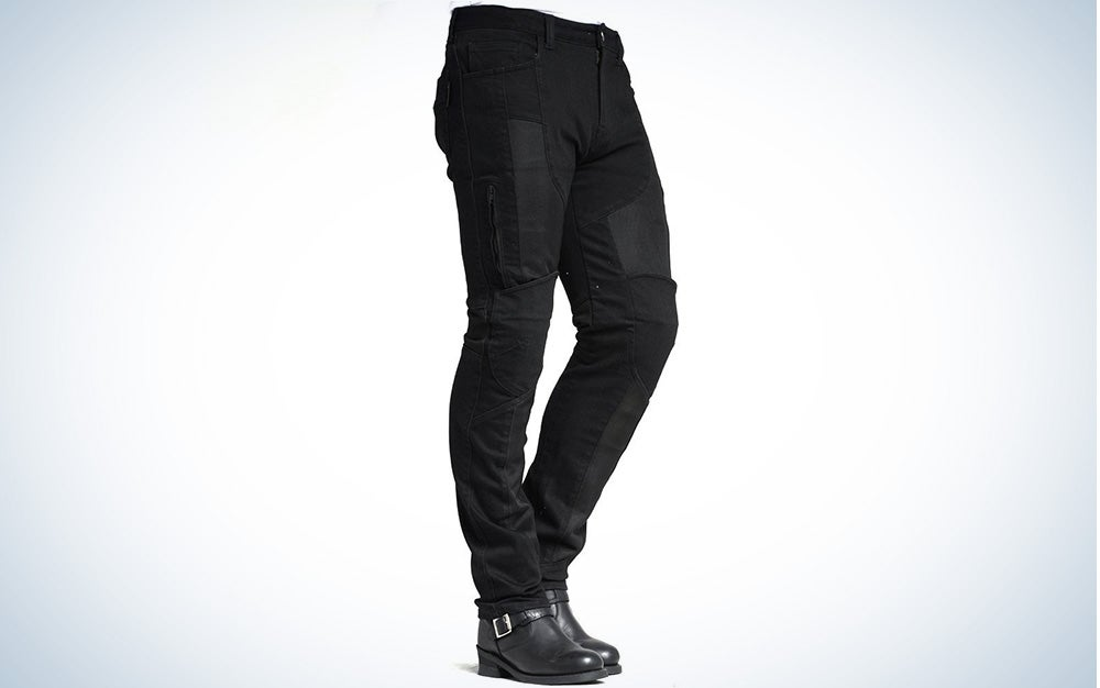 Maxler jeans with kevlar fiber protection