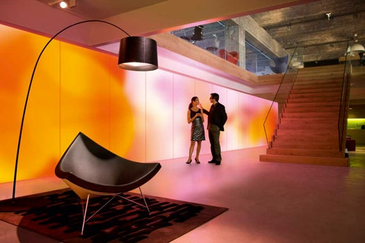 Philips' Luminous Wallpaper Will Create the Mood Lighting of the Future