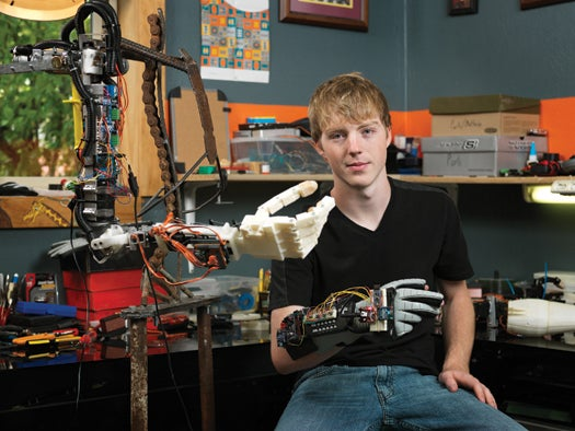 You Built What?!: A Remote-Controlled Robo-Arm